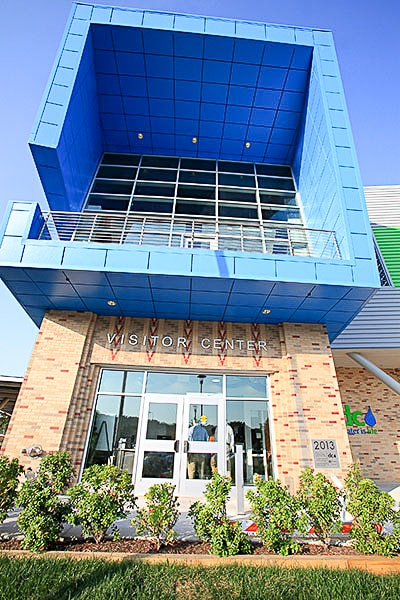 DC WATER NEW VISITOR CENTER AND WAREHOUSE image 6